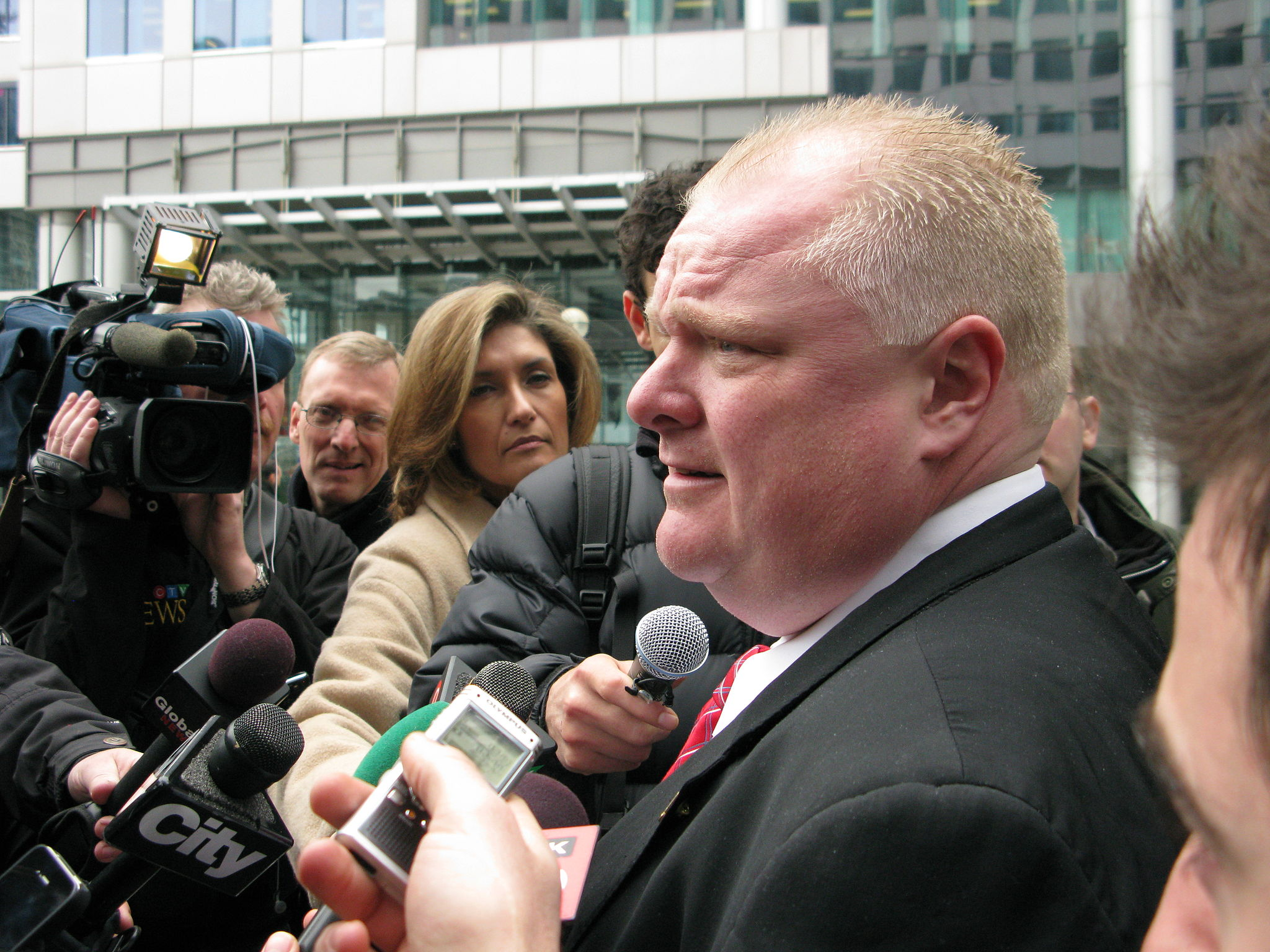 Rob Ford Meets the Press  © 2011 West Annex News, CC-BY-SA-2.0